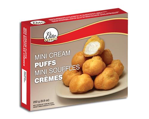 Mini Cream Puffs Packaging