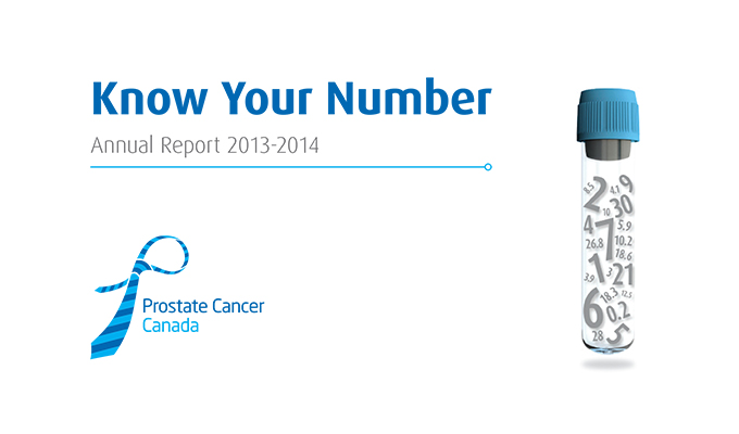 Prostate Cancer Canada Annual Report 2013-2014